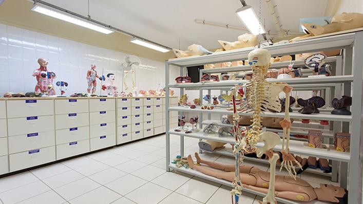 Laboratório de prática de saúde