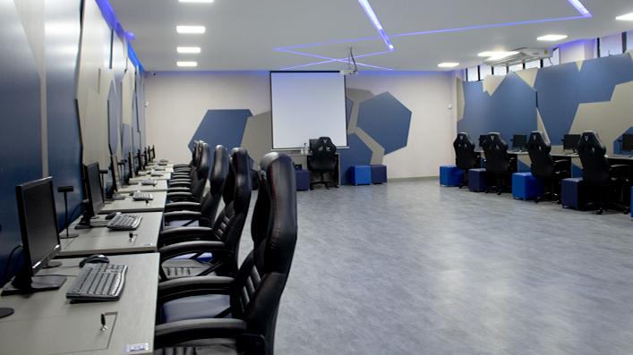 Laboratório de realidade virtual